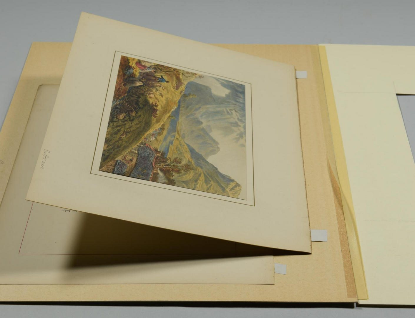 Lot 97: Large Group of English Prints, 8 total
