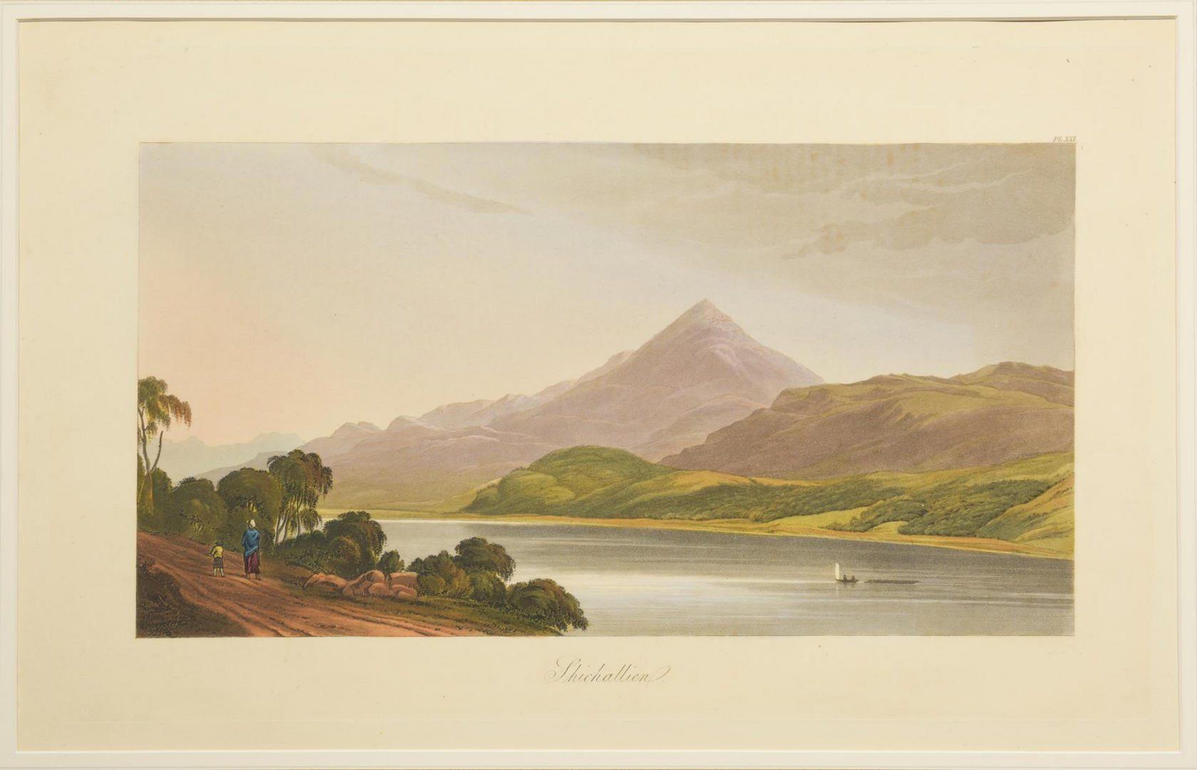 Lot 98: 4 George Fennel Robson Engravings, Henry Morton