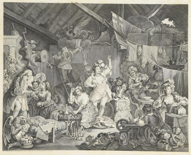 Lot 99: William Hogarth Elephant Folio
