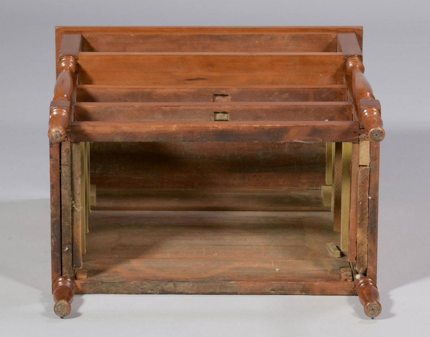 Lot 106: Miniature Chest of Drawers & Child's Chair