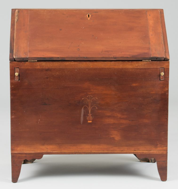 Lot 107: Southern Inlaid Sugar Desk