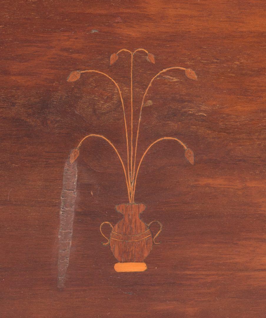 Lot 107: Southern Inlaid Sugar Desk