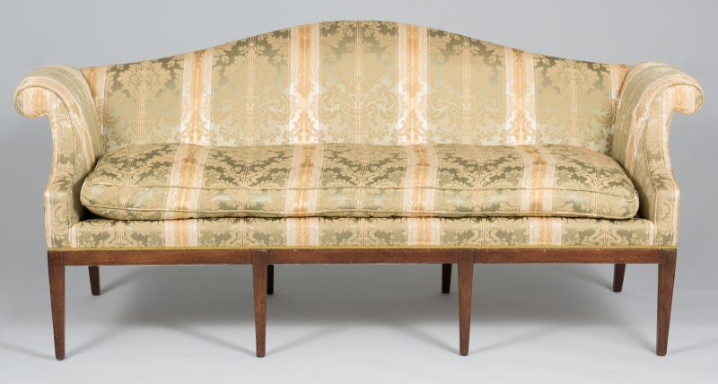 Lot 110: Federal Sofa attr. N. Carolina