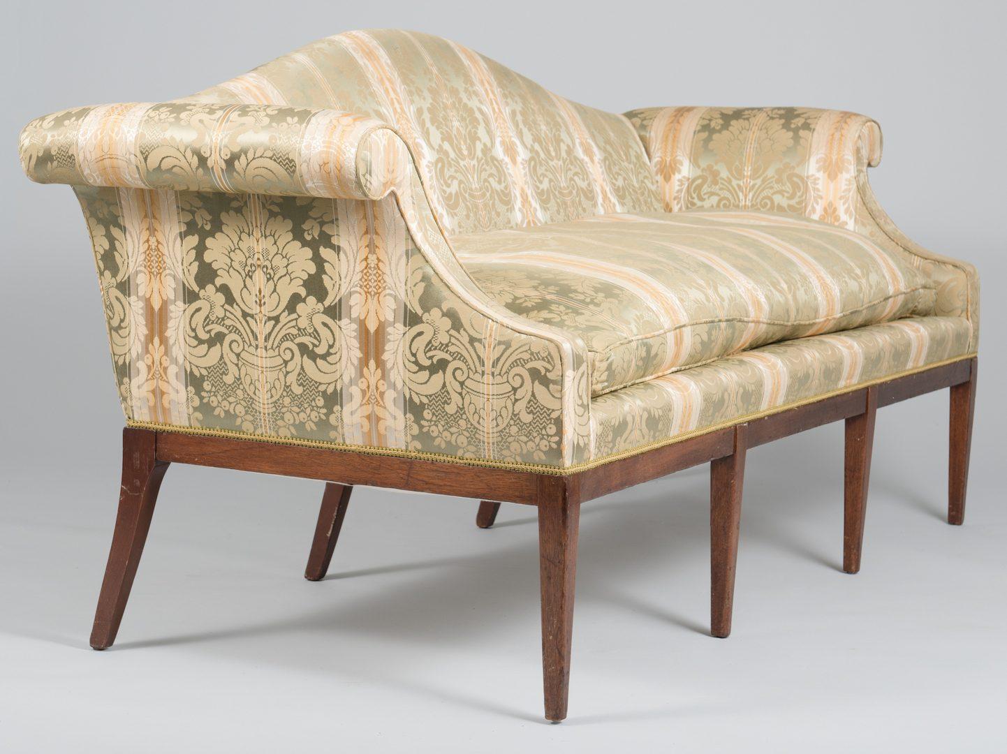 Lot 110: Federal Sofa attr. N. Carolina