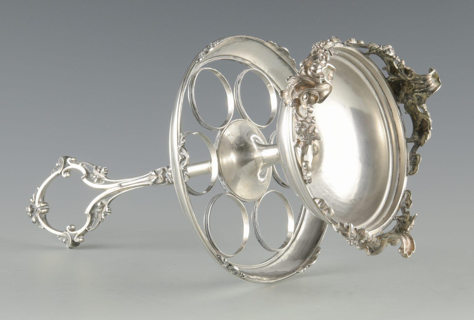 Lot 132: Gorham Coin Silver Cruet