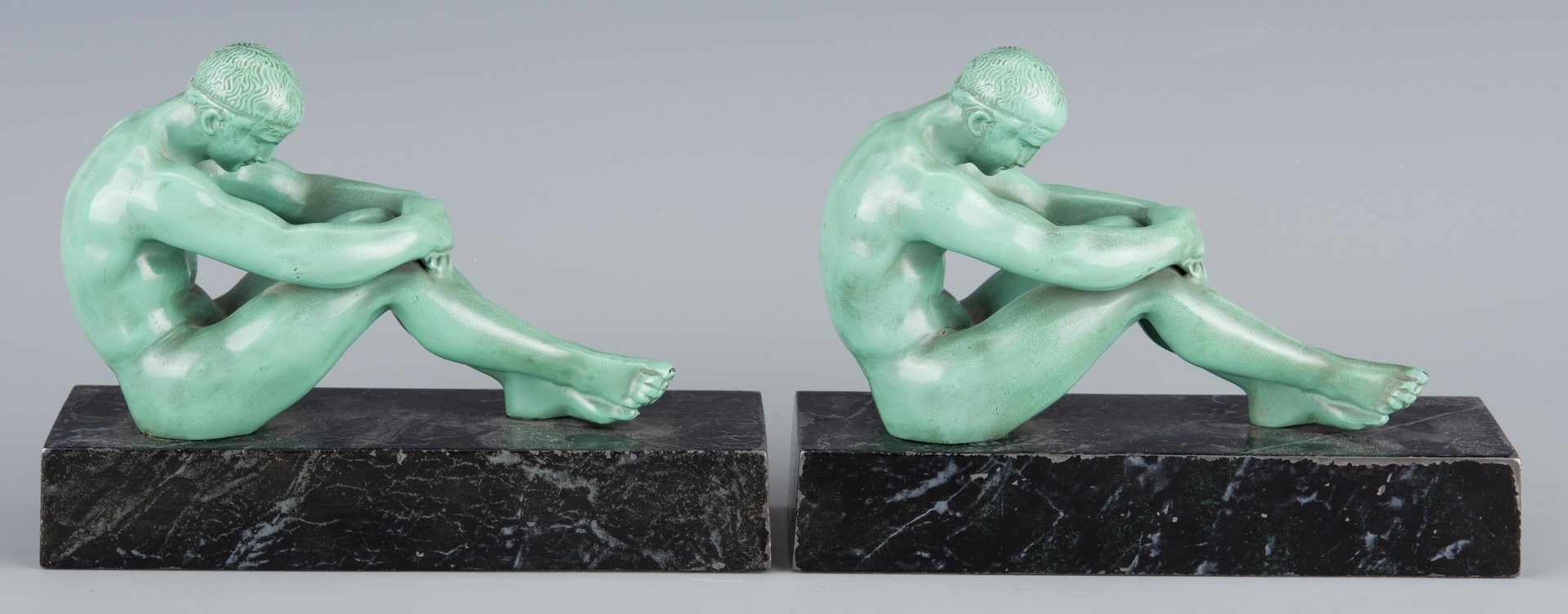 Lot 142: Dodge Sterling Awards w/ Art Deco bookends