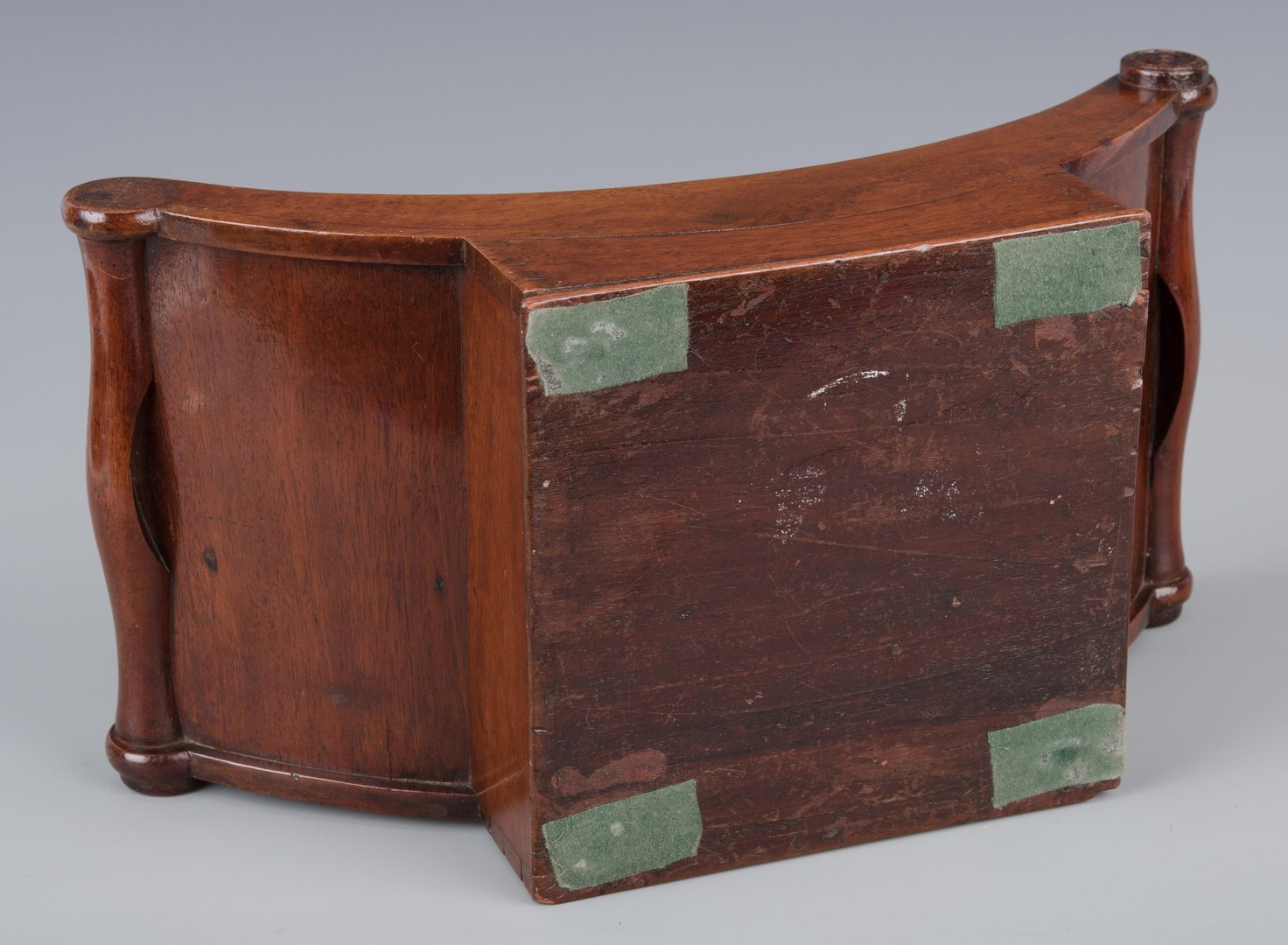 Lot 143: Tea Caddy, Cheese Coaster, and Classical Urns