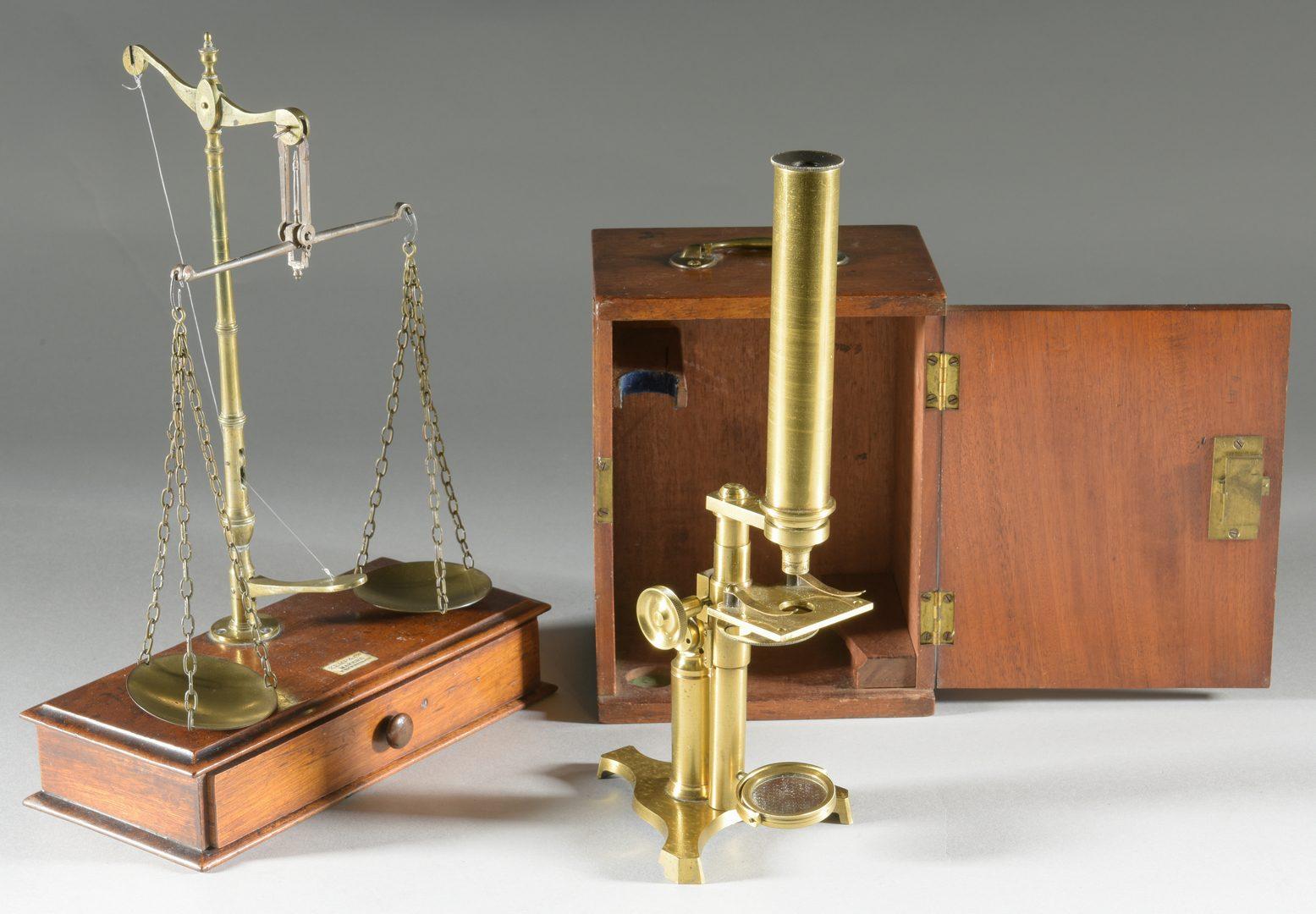 Lot 145: 4 19th cent. Decorative Accessories inc. scale
