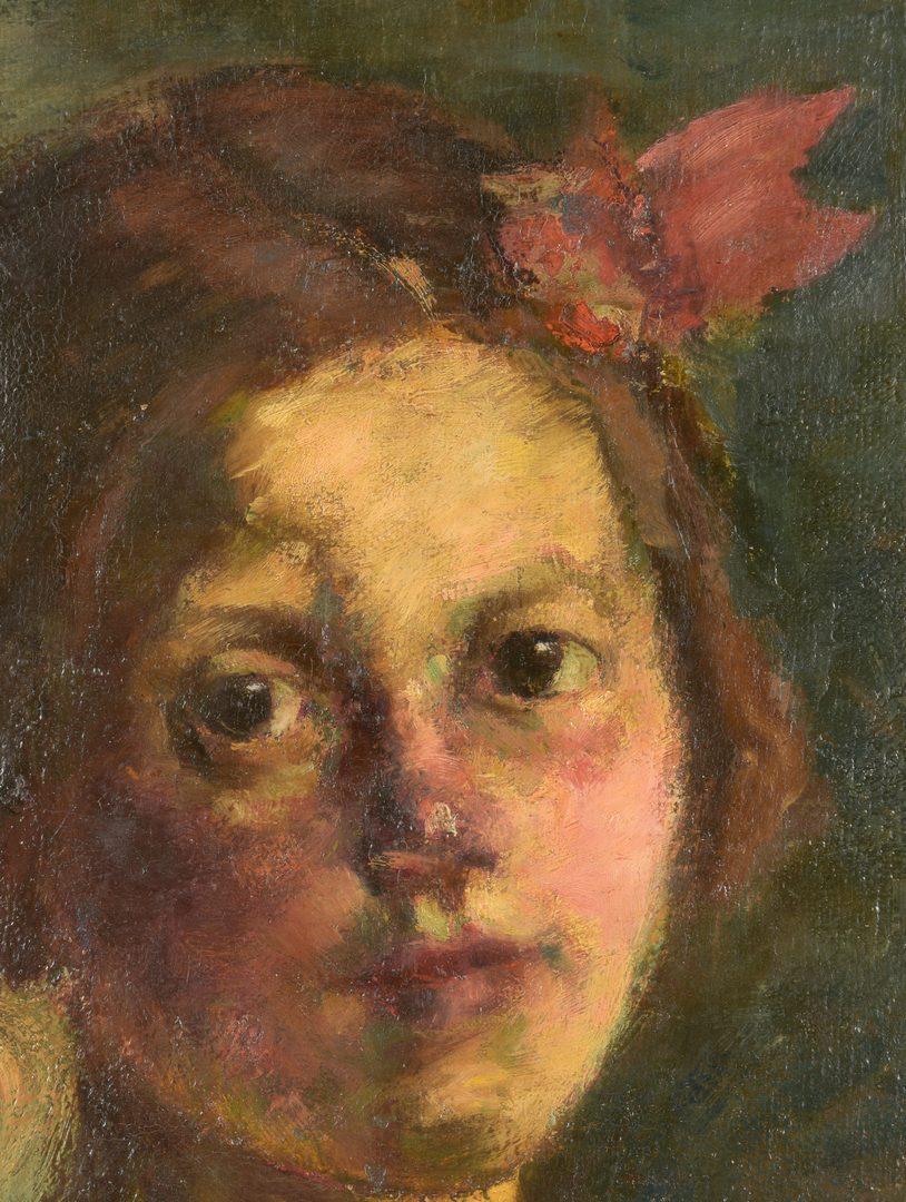Lot 149: Jozsef Koszta o/c Portrait