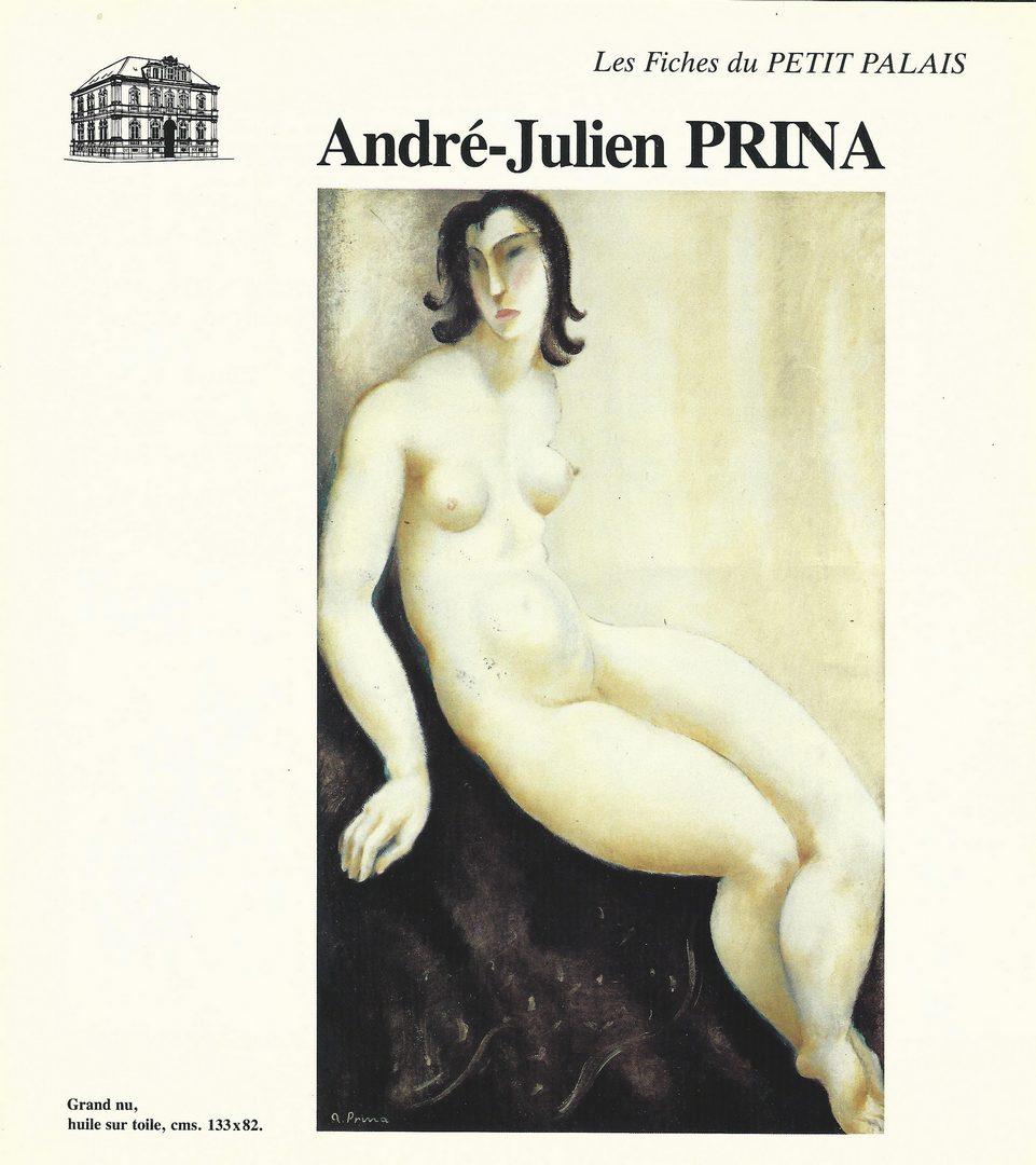 Lot 150: Andre Julien Prina, O/C, Portrait