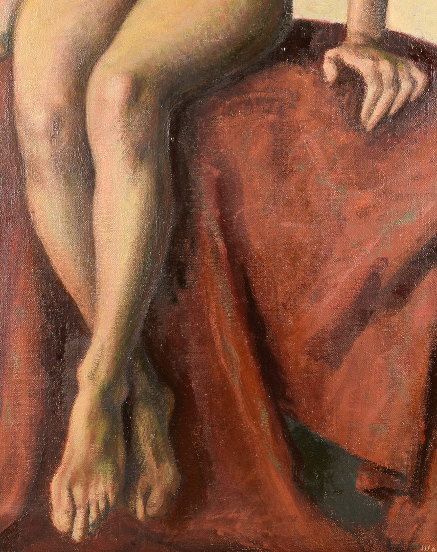 Lot 151: Marcello Tommasi O/C Nude