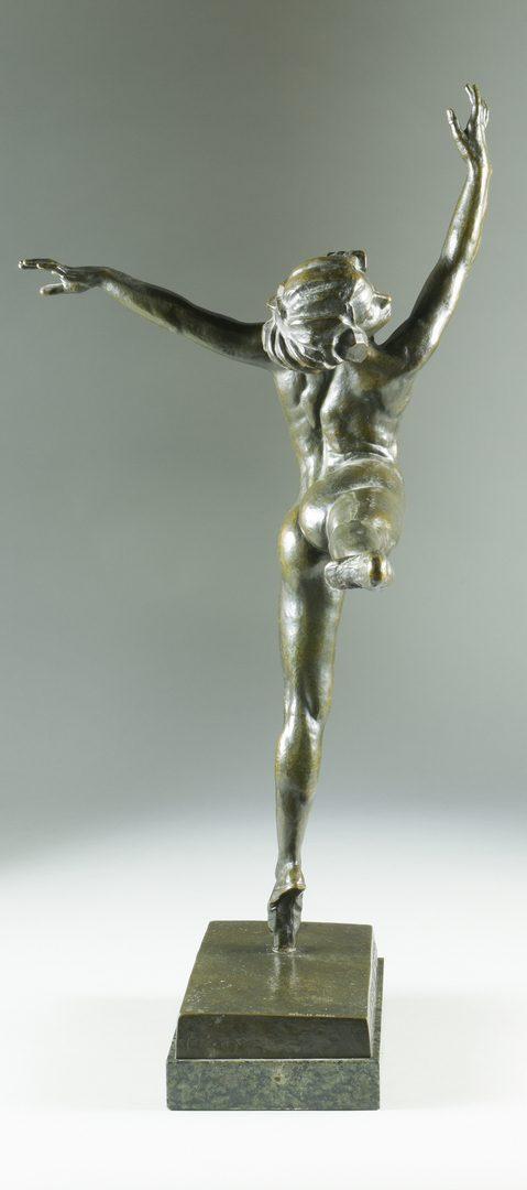 Lot 152: S. Yourievitch Bronze Ballerina
