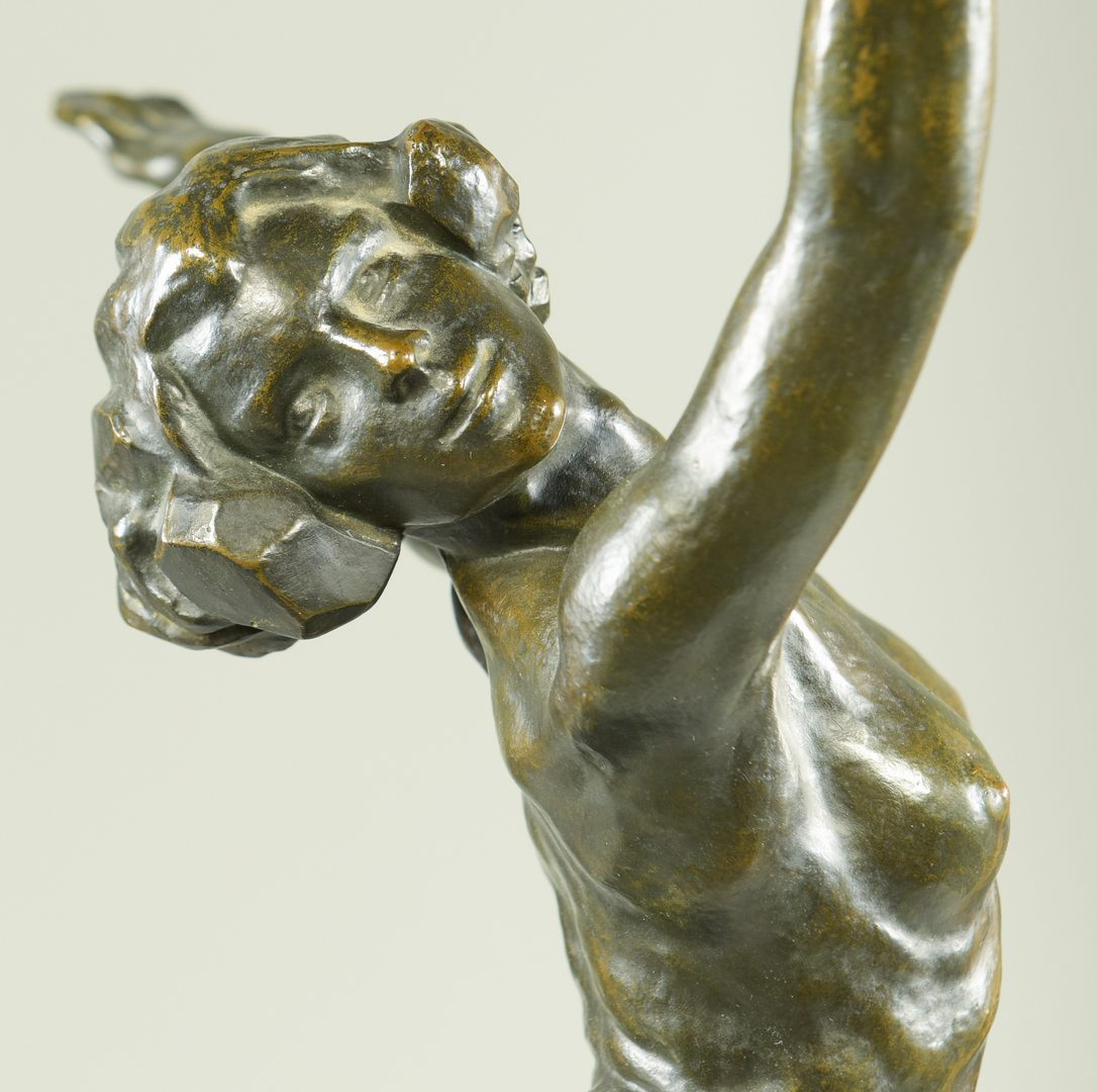 Lot 152: S. Yourievitch Bronze Ballerina