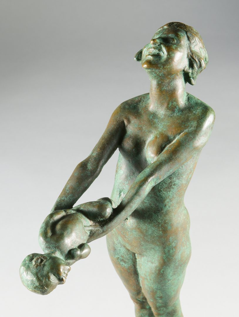 "Lot 154: Edith Parsons Bronze Sculpture,""Joy"""