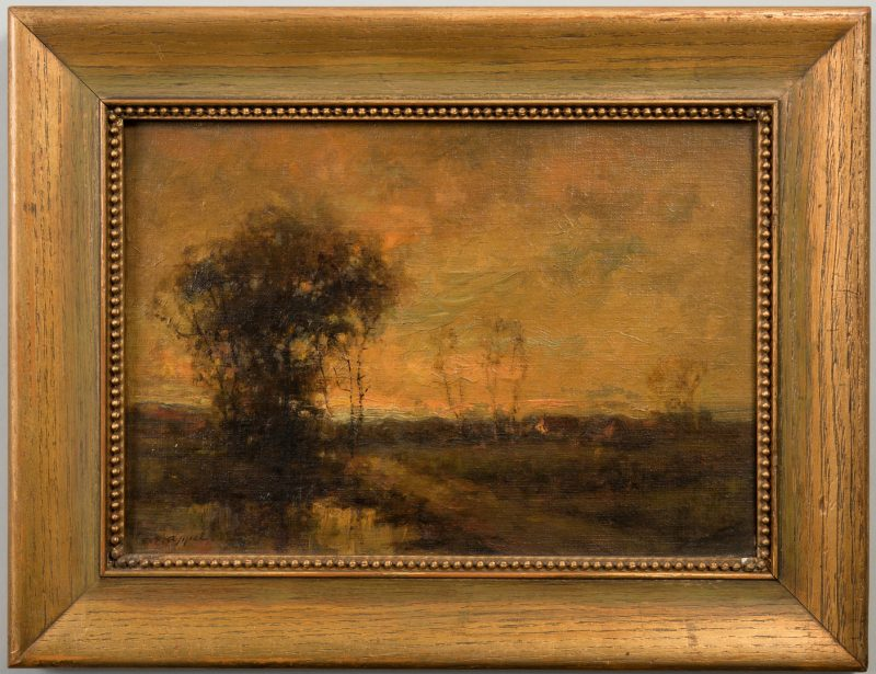 Lot 155: Charles Appel oil landscape
