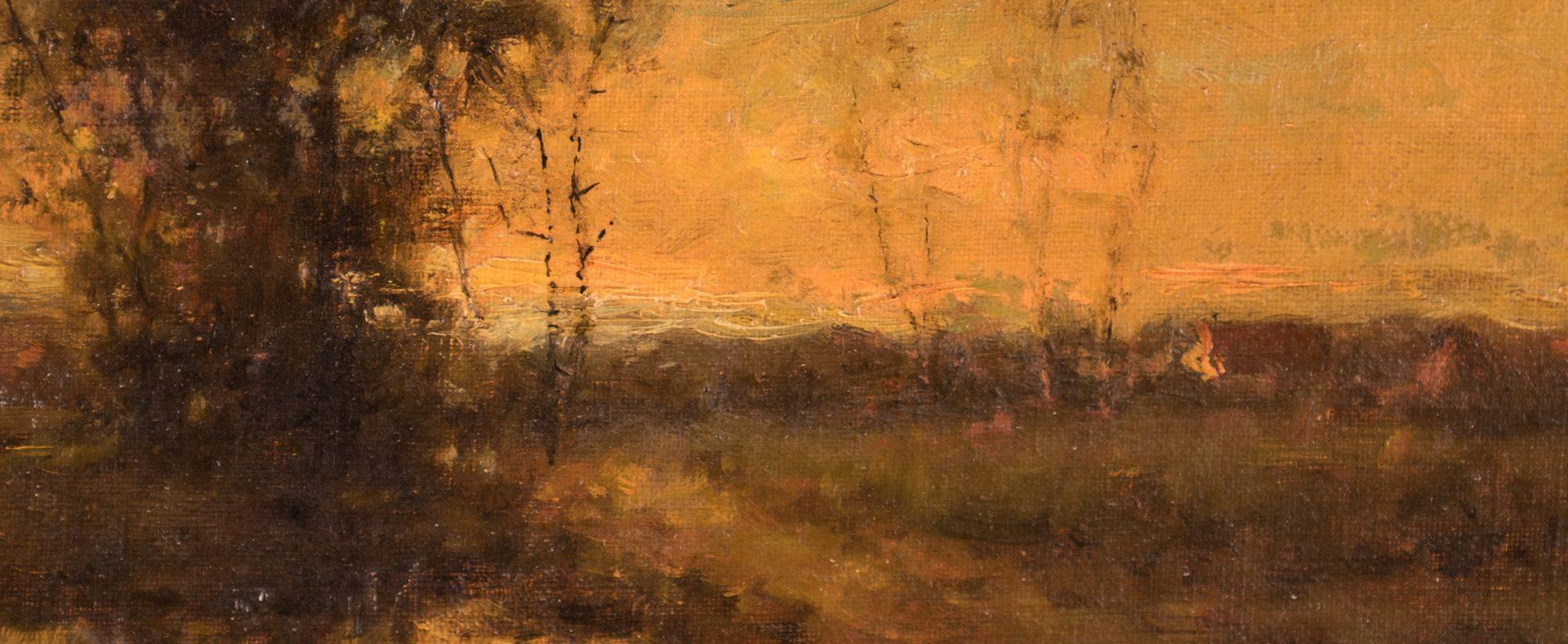 Lot 155: Charles Appel oil landscape