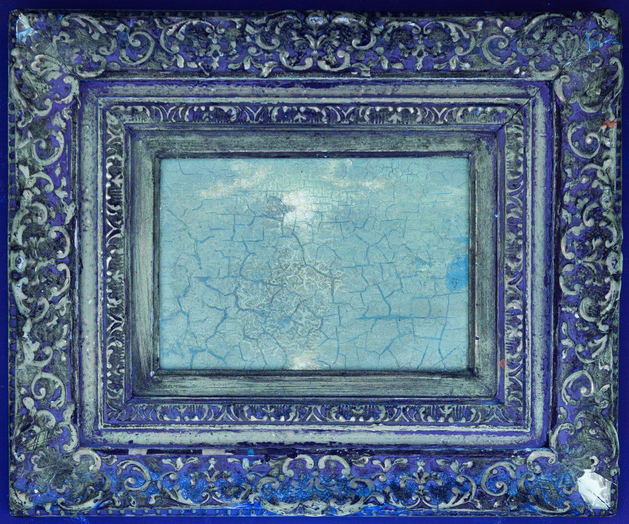 Lot 158: Ralph Albert Blakelock O/B Moonlit Landscape