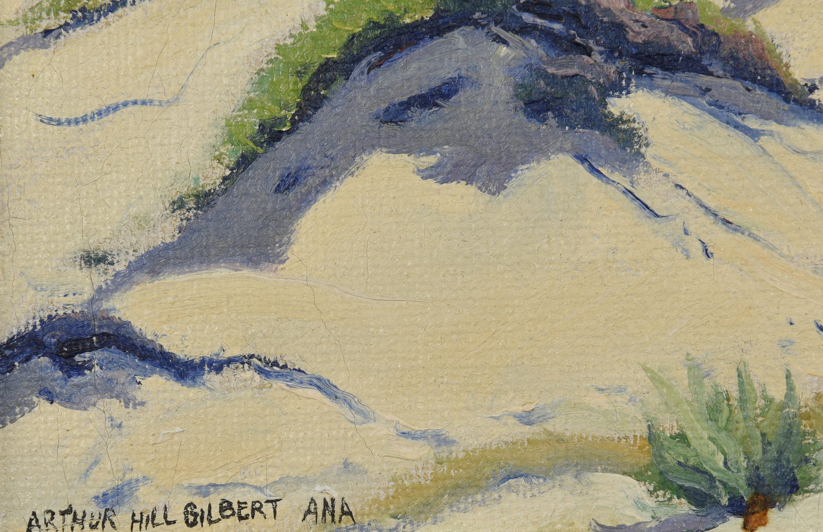 Lot 166: Arthur Hill Gilbert oil on canvas