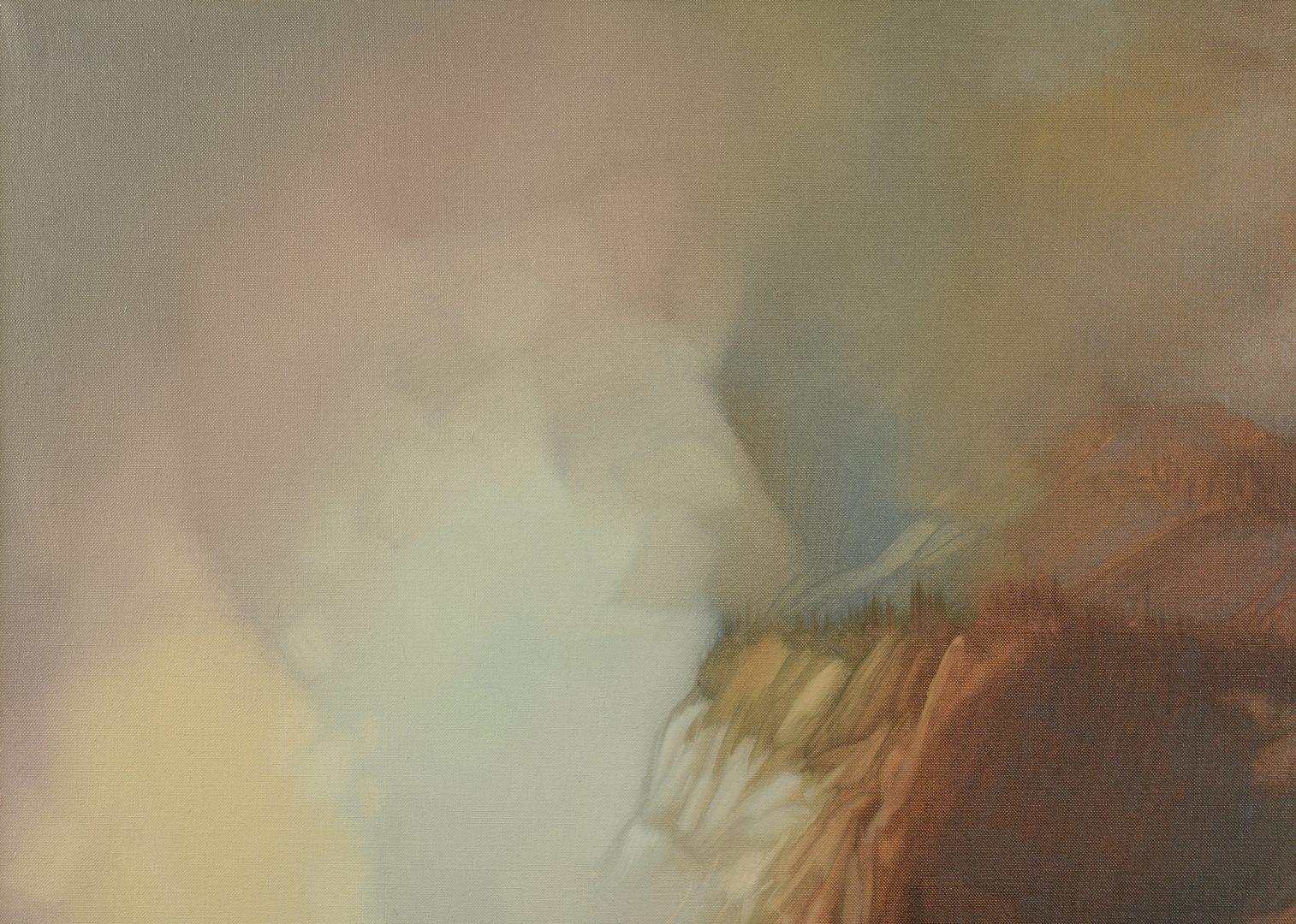Lot 168: Charles Rhinehart Oil on Canvas Landscape