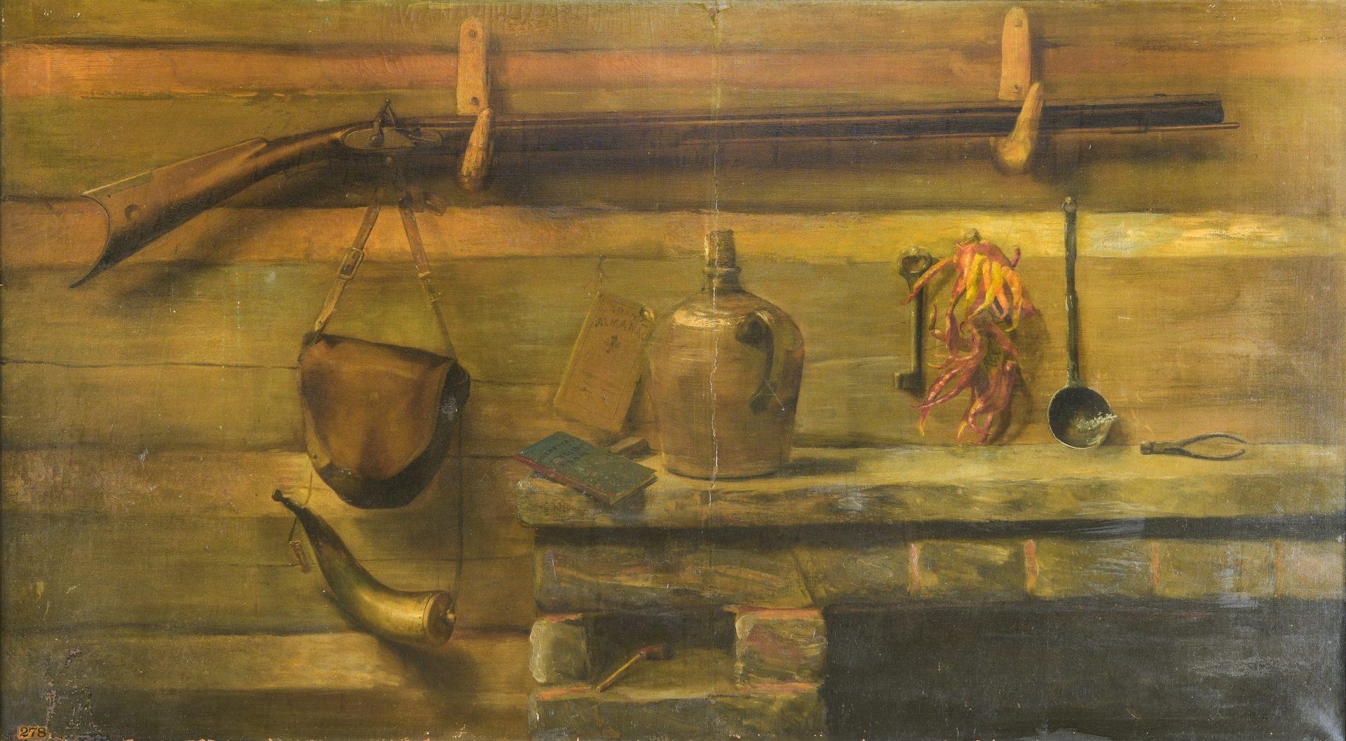 Lot 178: Large 1910 TN Appalachian Expo. Still Life by Mayme Freeman