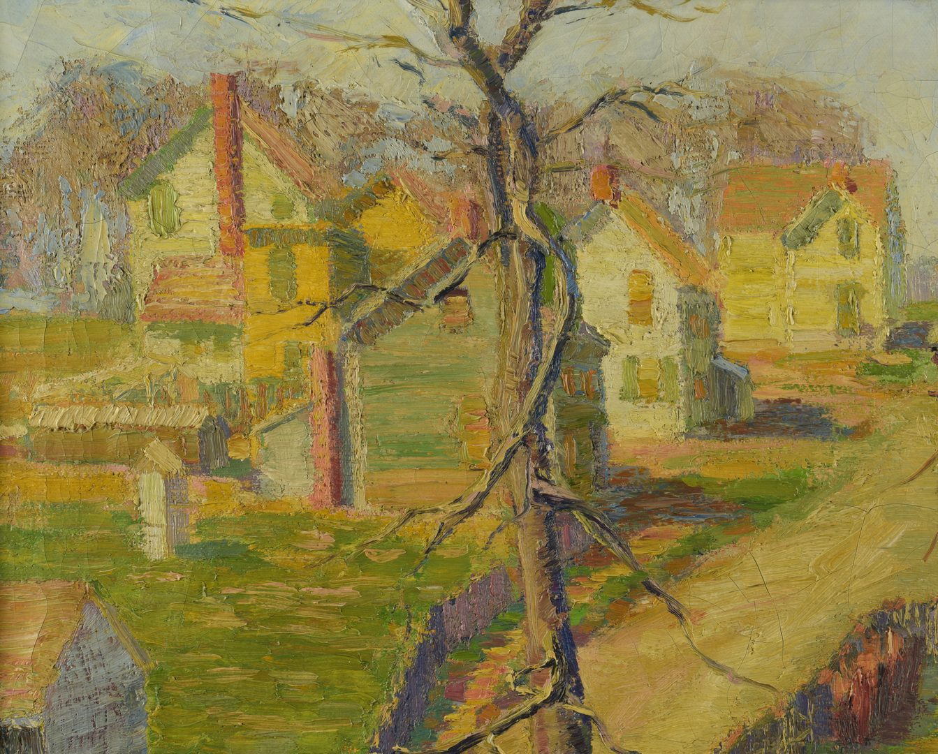 Lot 180: Morgan Stinemetz O/C landscape