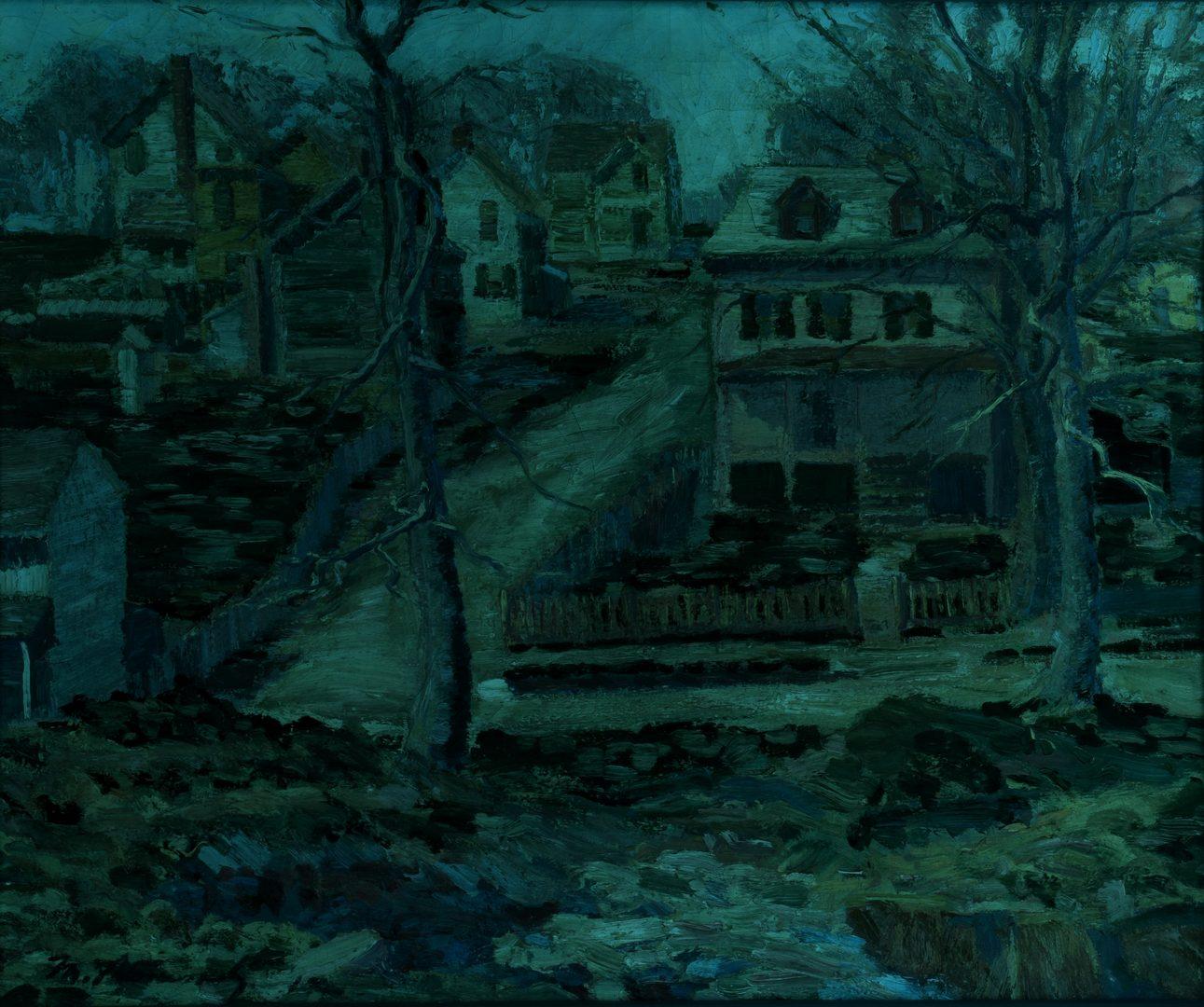 Lot 180: Morgan Stinemetz O/C landscape