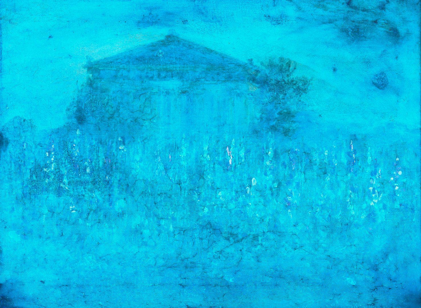 Lot 184: Cornelius Hankins O/C Parthenon, Stringfield Frame