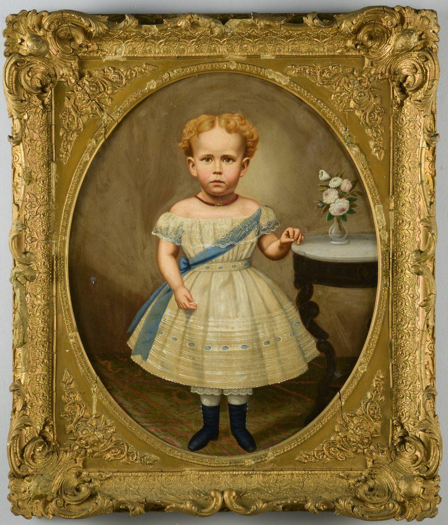 Lot 187: TN Child Portrait att. Shackelford