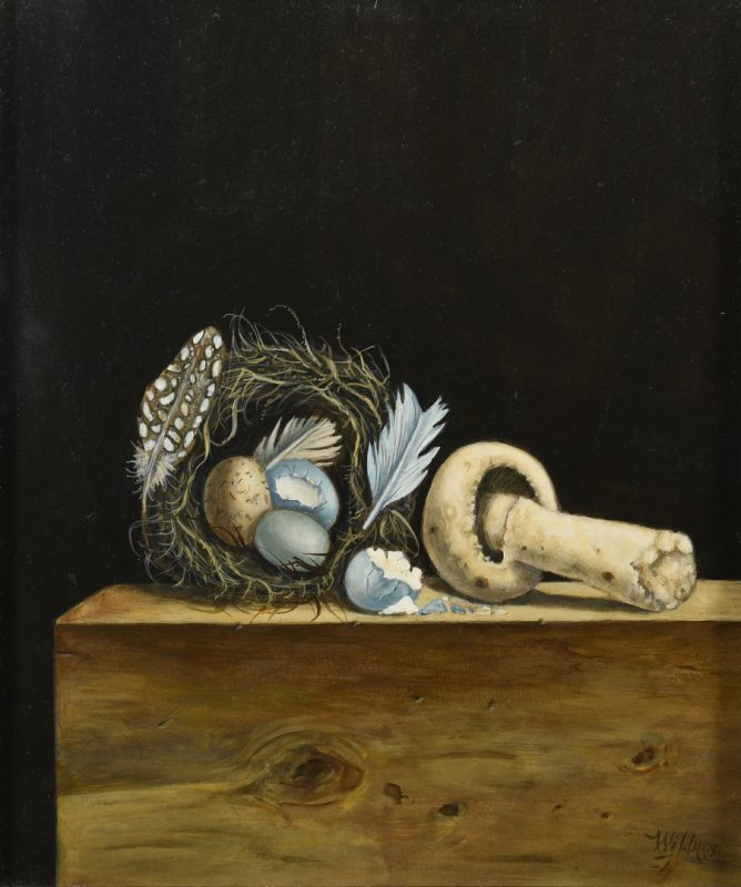 Lot 189: Werner Wildner Still LIfe Painting