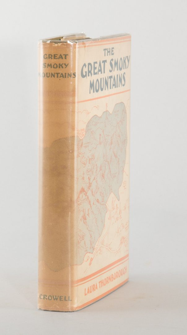 "Lot 192: FDR's Copy of ""The Great Smoky Mountains"""
