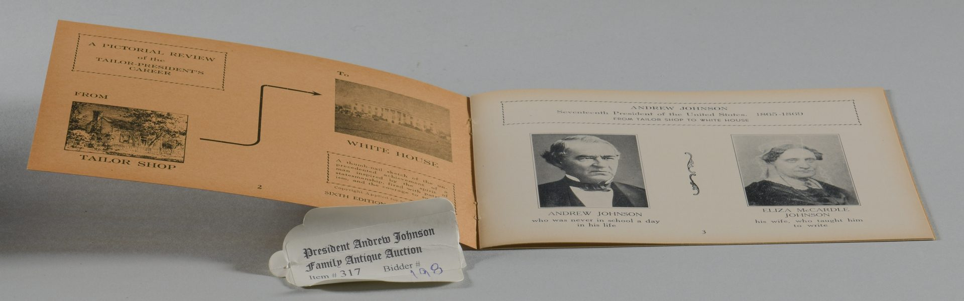 Lot 193: 5 Presidential Andrew Johnson Related Items