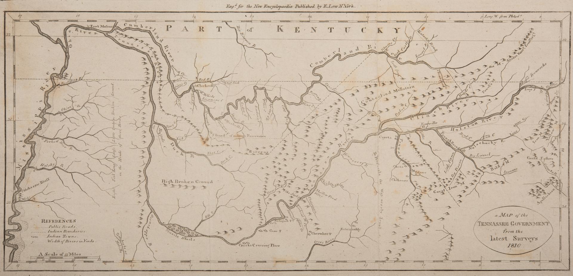 Lot Tenn Map PayneLow - Tenn map