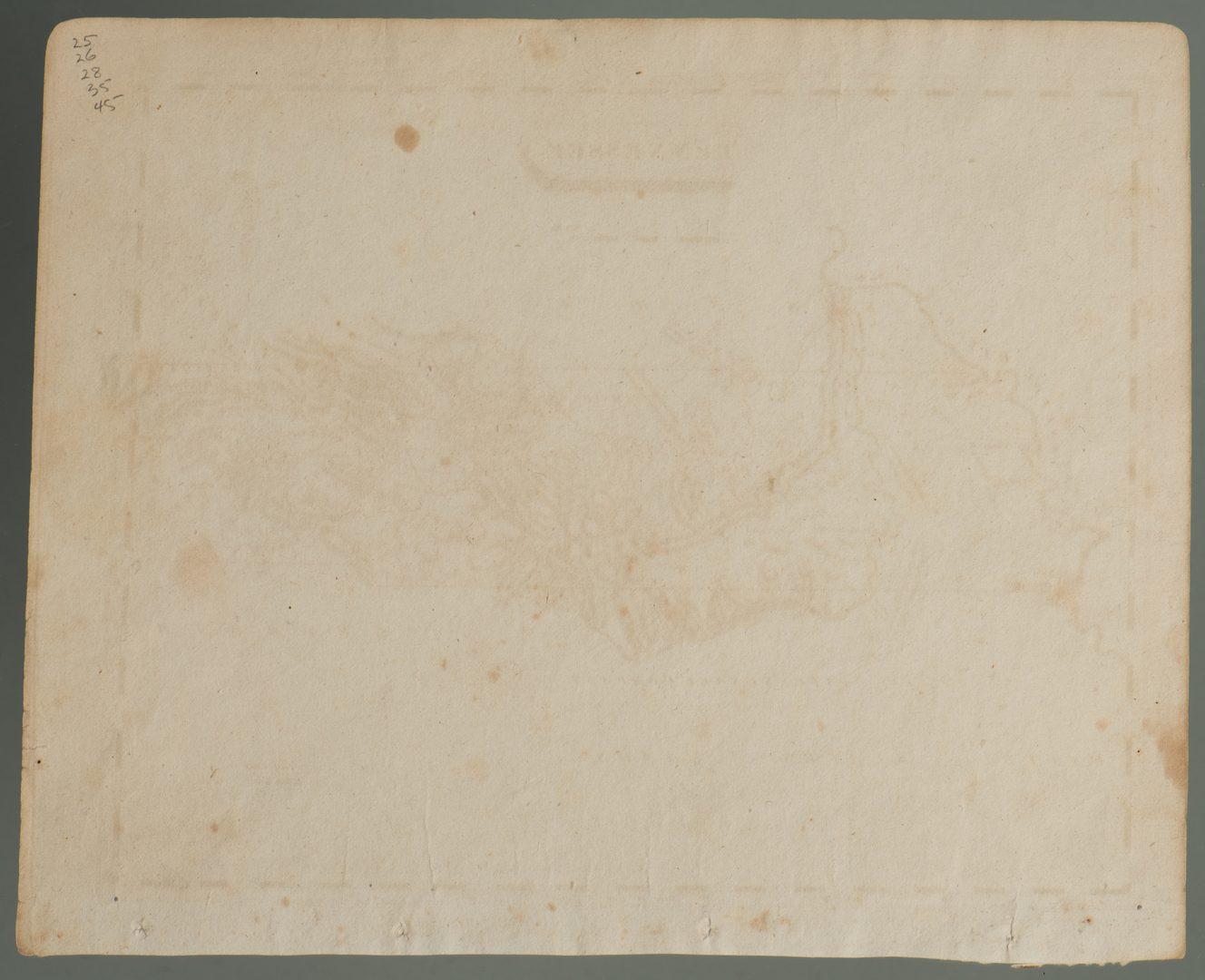 Lot 210: TN Map 1804, Lewis/ Lawson