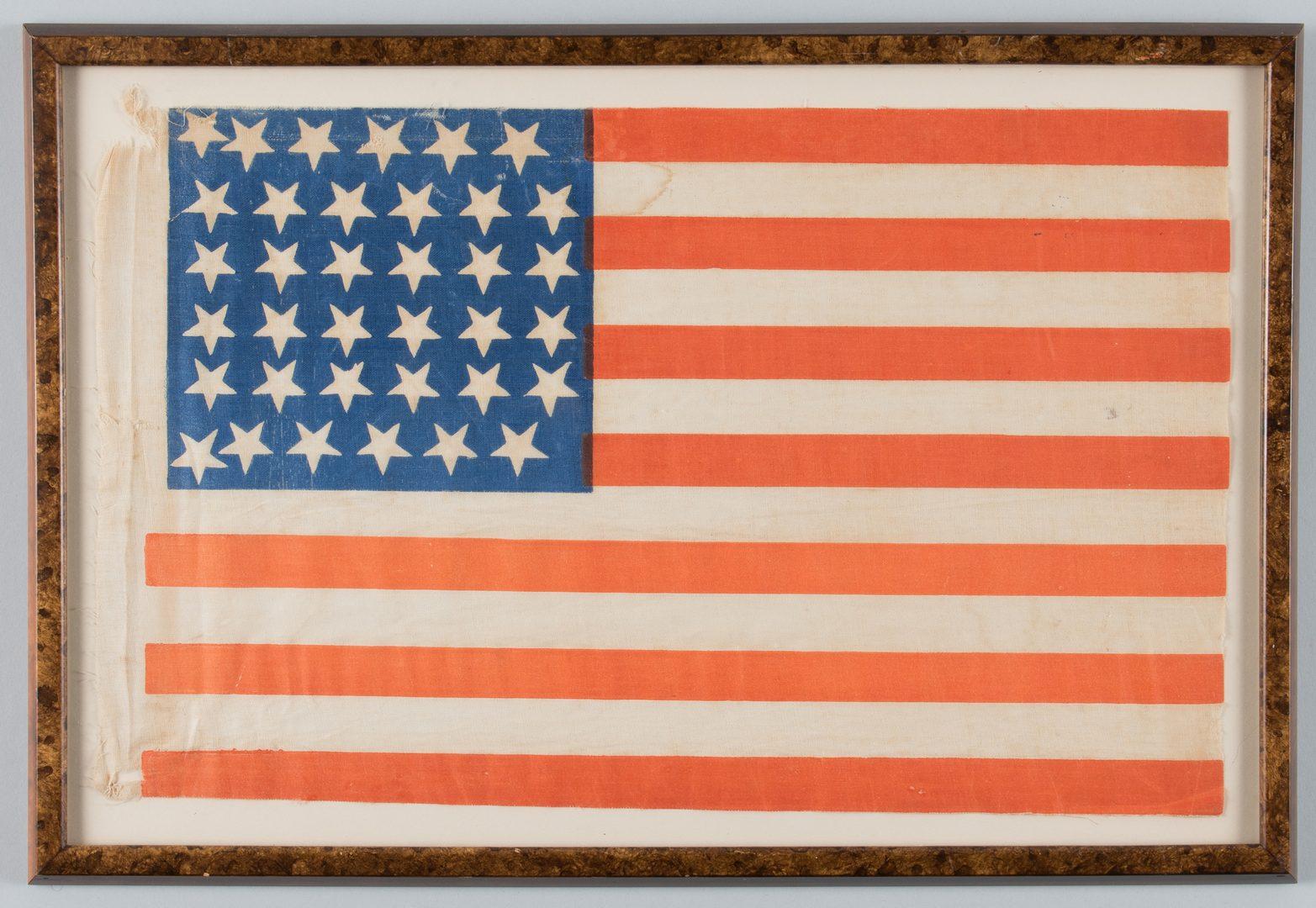 Lot 215: 36 star Parade Flag