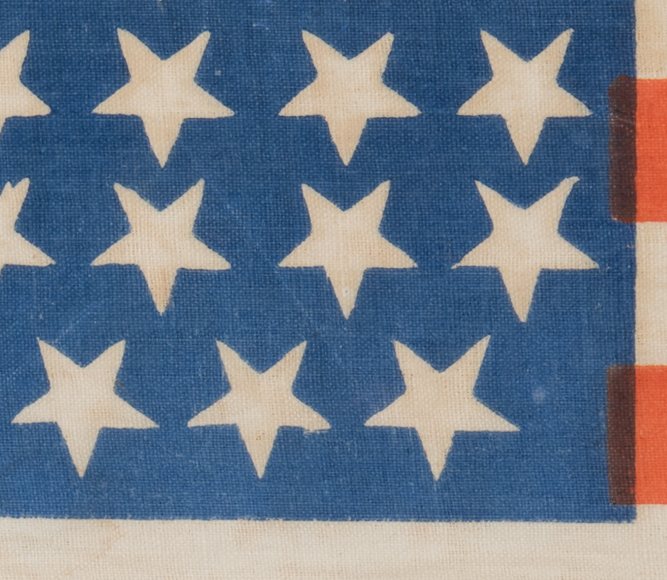 Lot 215: 36 star Parade Flag