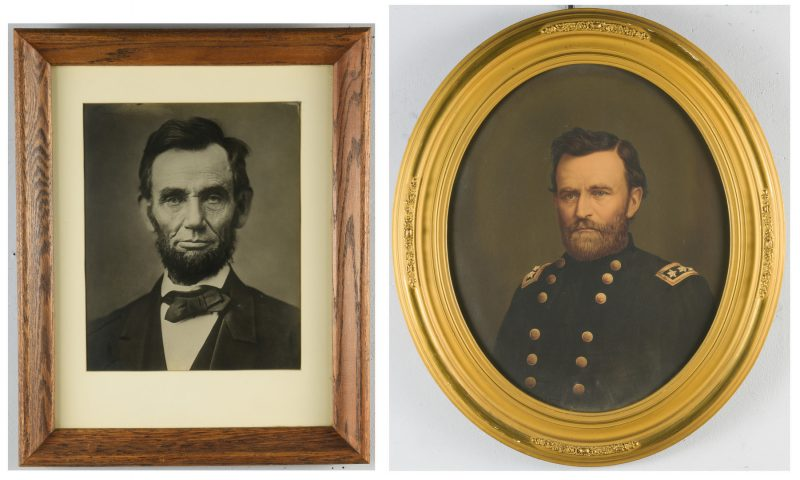 Lot 225: Lincoln & Grant Prints, 2 items