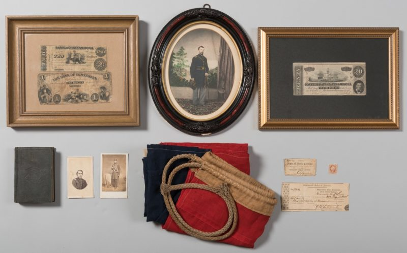 Lot 226: Civil War Archive, 11 items total