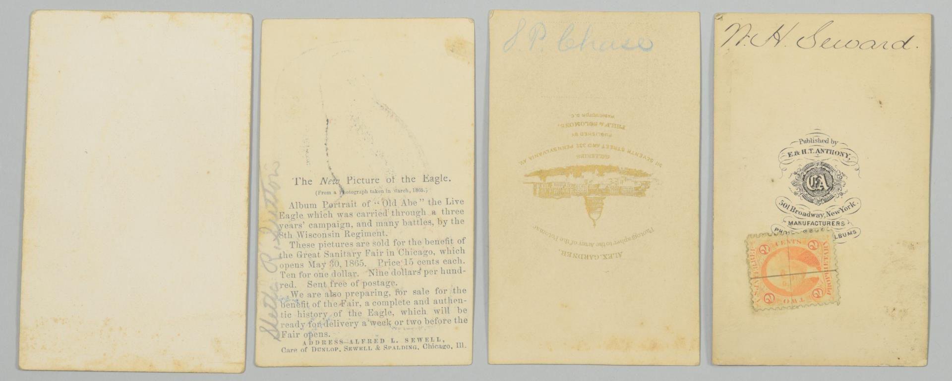 Lot 228: Group of 8 Civil War & TN CDV Cards