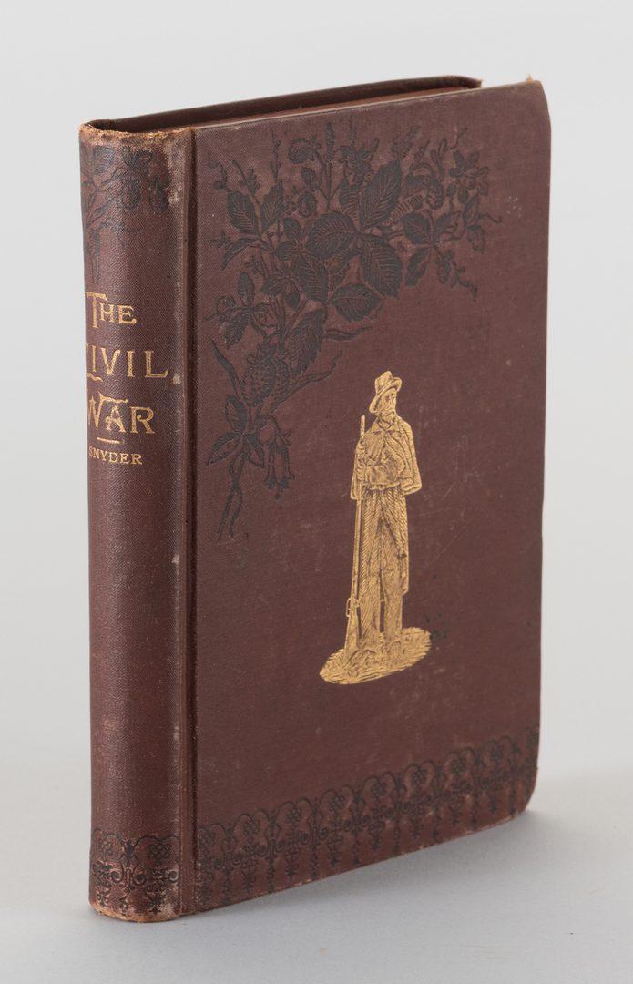 Lot 235: 5 Civil War Related Books