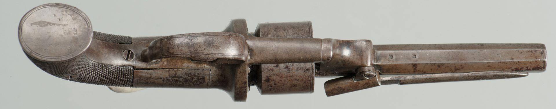 Lot 237: European Transition Revolver, 36 Cal.