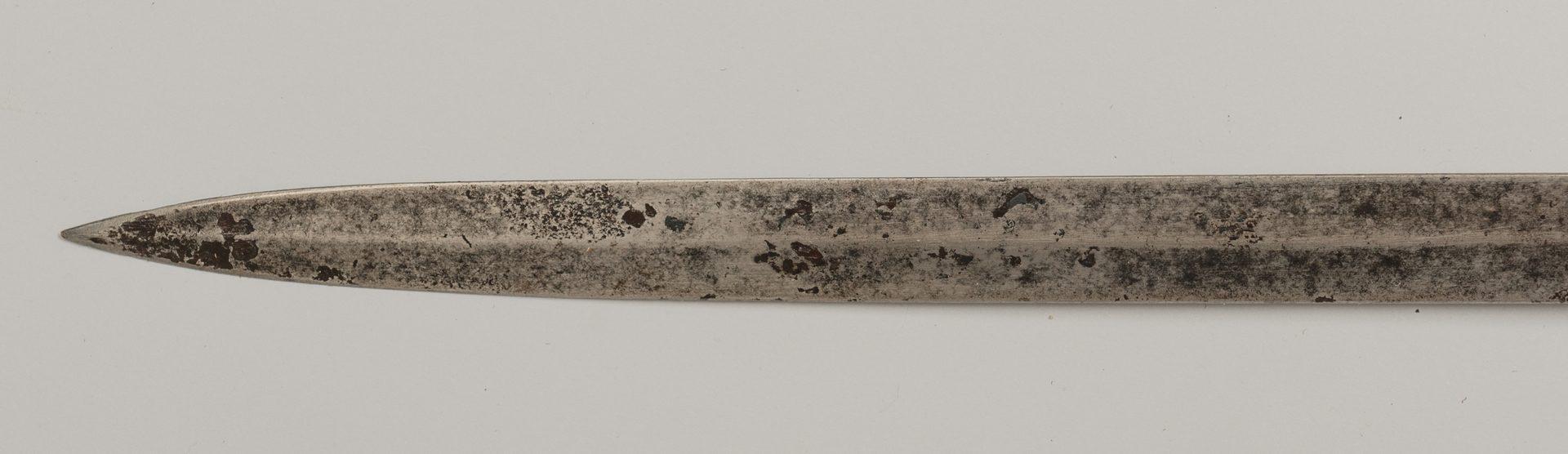 Lot 239: Model 1850 Solengen Staff & Field Sword