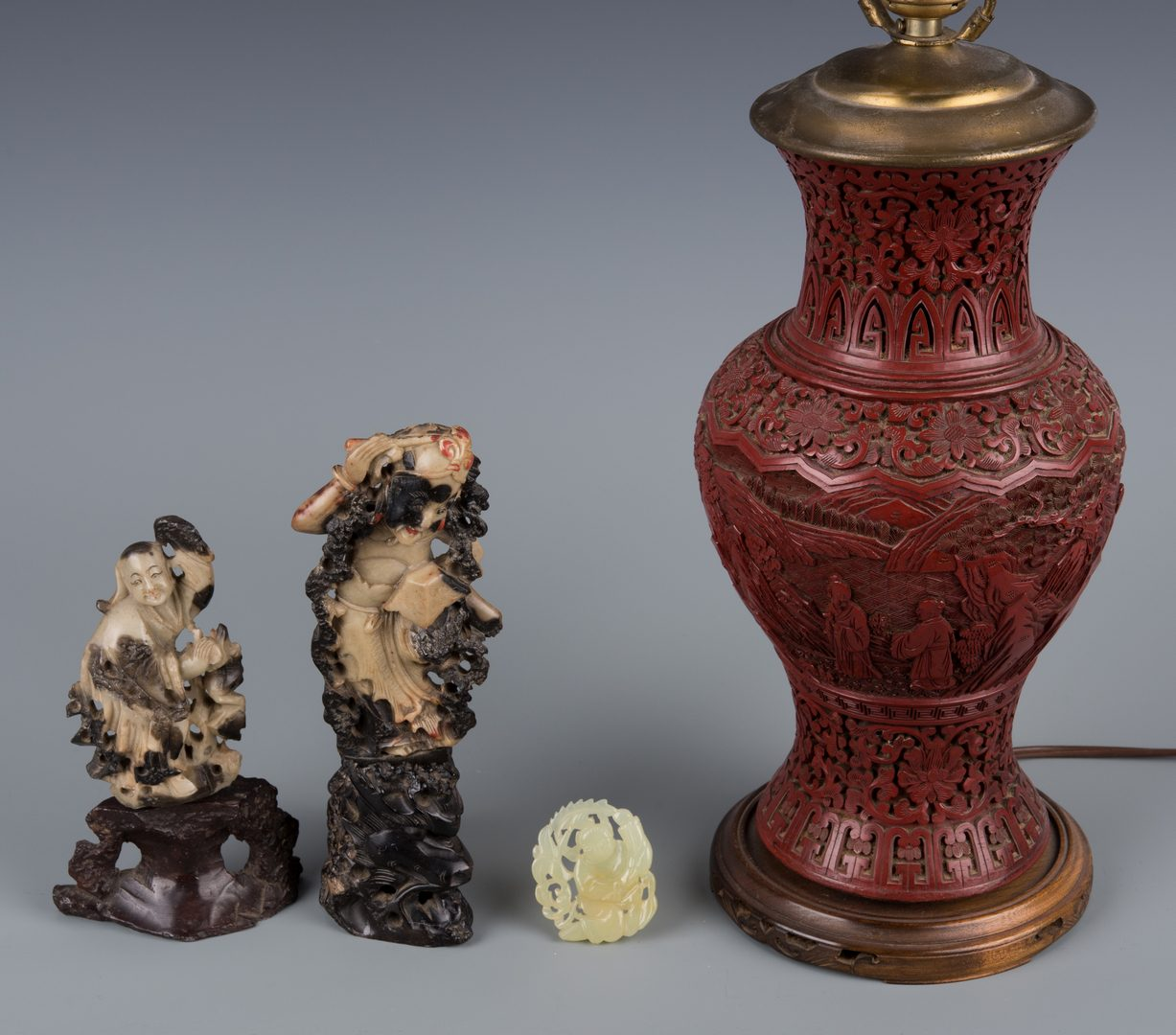 Lot 248: 5 Chinese Table Items