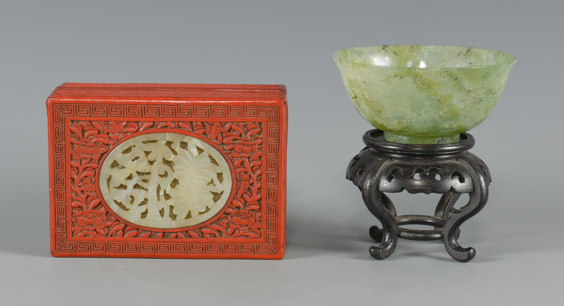 Lot 249: 9 Chinese Decorative Items