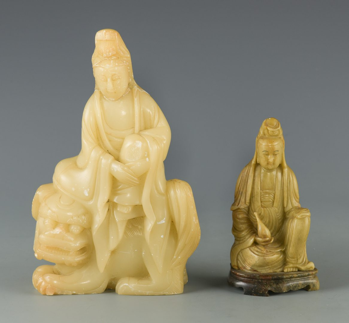 Lot 250: 6 Chinese Decorative Items, incl. Silver