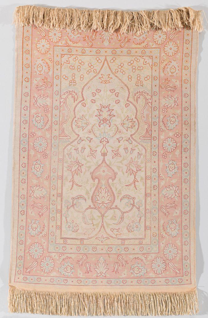Lot 287: Two Silk Decorative Textiles