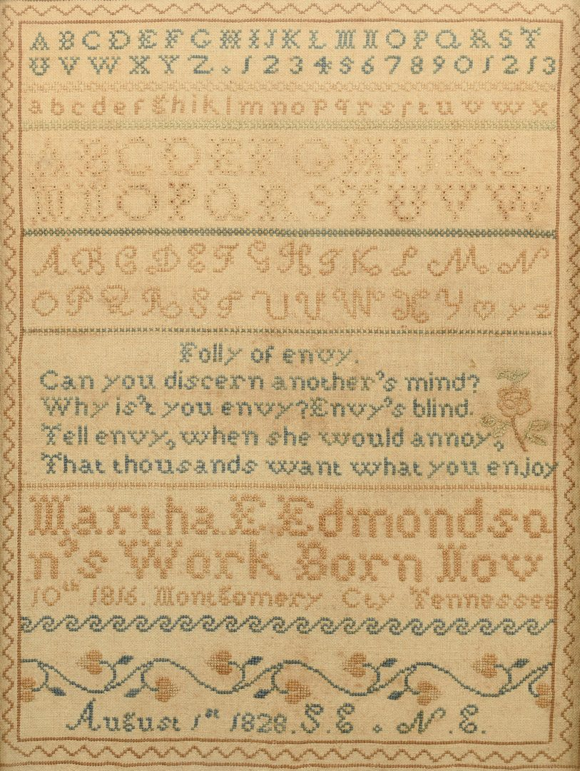 Lot 292: Montgomery Co. Tennessee Sampler