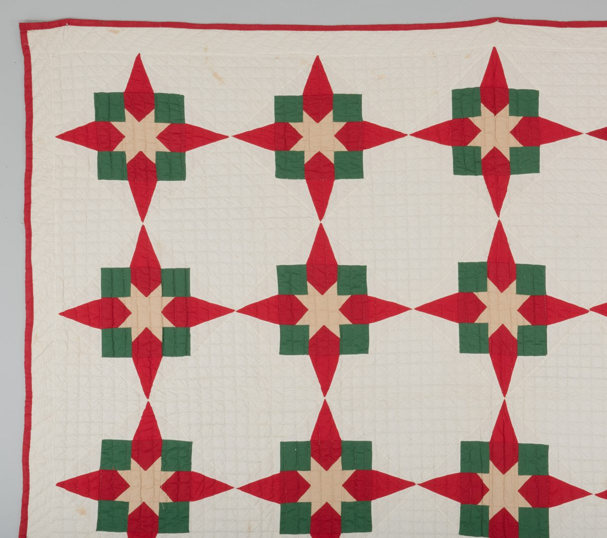 Lot 296: 3 Middle TN Pieced Cotton Quilts