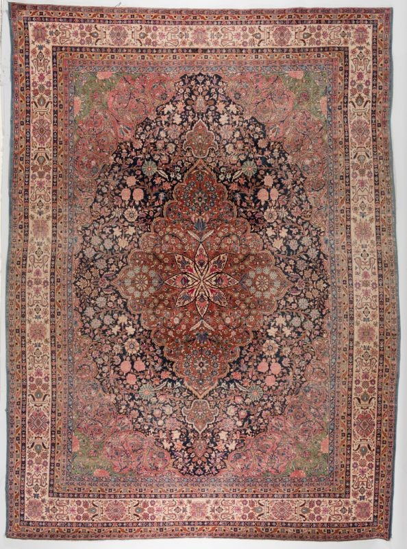 Lot 300: Antique Persian Kashan Carpet
