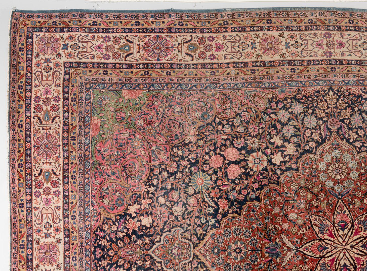 Lot 300: Antique Persian Kashan Carpet