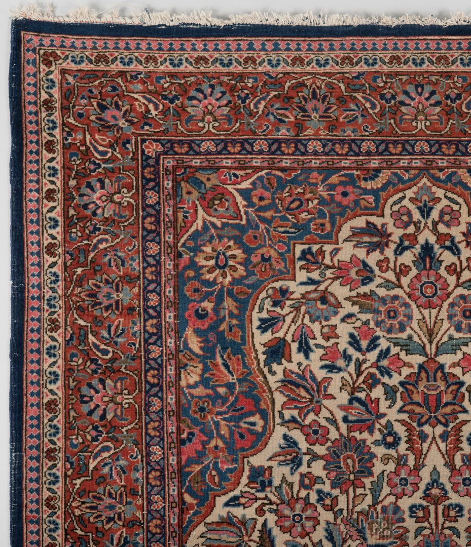 Lot 301: 2 Antique Persian Area Rugs